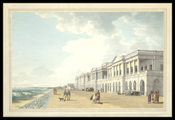 N.E. View of Bentinck's Buildings, the Beach, Madras 1362